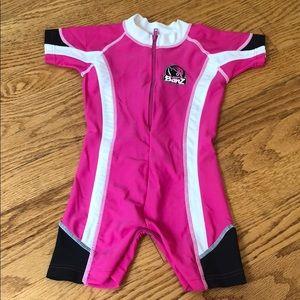 Baby Banz zip up spf 50+ rashguard - 6 months